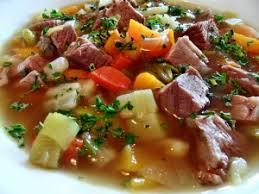 Немецкий суп «Пихельштайнер»