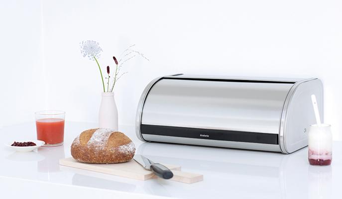 Хлебницы Brabantia — залог долгой свежести хлеба