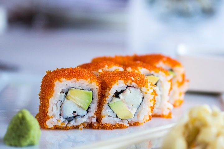 Ингредиенты для суши и роллов