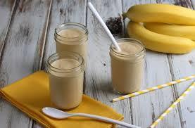 Молочный коктейль с бананом и шоколадом