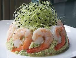 Салат Руссо с морепродуктами