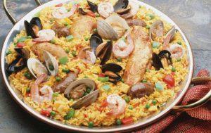 Плов с морепродуктами в мультиварке