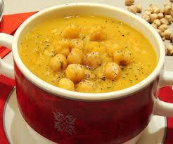 Крем-суп с нутом