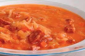 Ирландский суп с капустой