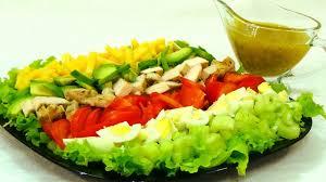 Американский салат «Кобб» — Cobb Salad