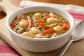 Грибной суп с картофельными ньокками