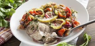 Сазан с ароматными овощами