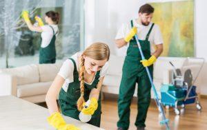 Закажите уборку на дом в клининговой компании!