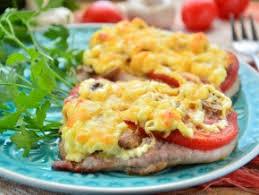 Мясо по-купечески (с грибами)