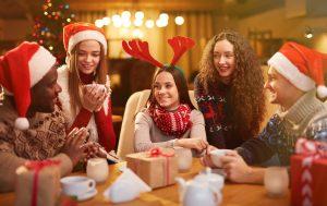 Простые закуски и снеки для рождественской вечеринки