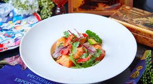 Салат «Севиче» из лосося