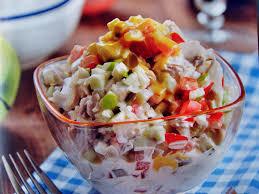 Рыбный салат «Быстрый»