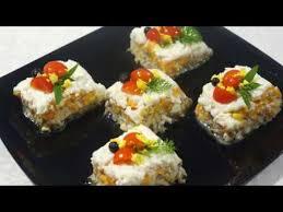 Салат- закуска слоеный » Кубик»