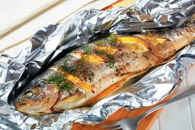 Рыба в фольге