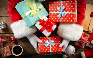 Подарки в праздничный день