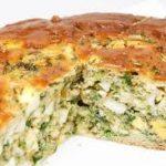 Пирог из белокочанной капусты