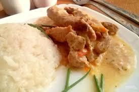 Курица в сметанно-горчичном соусе