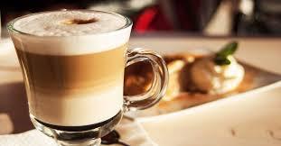 Кофе латте по-домашнему