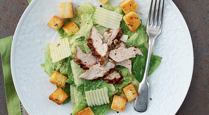 Какой салат нужен для Цезаря