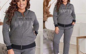 Модная одежда для девушек Plus Size