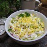 """Салат из капусты """"Весеннее утро"""""""