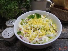 Салат из капусты «Весеннее утро»