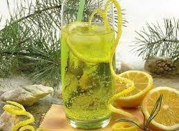 Горький лимонад-розмаринад а-ля тоник