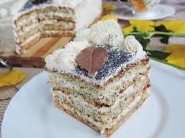 Маковый торт «Падали листья»