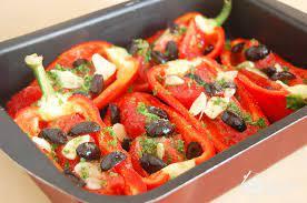 Запеченный перец по-итальянски
