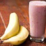 Смузи вишнево-банановый
