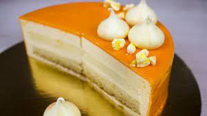 Муссовый торт с апельсинами