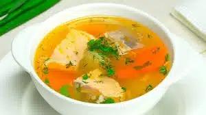 Рыбный суп из форели по-деревенски