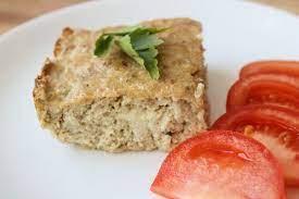 Суфле мясное, запеченное в духовке с овощами