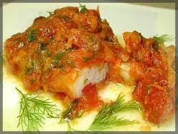 Рыба маринованная