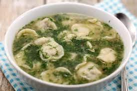 Суп с пельменями из курицы