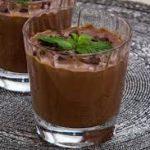 Молочный кисель с какао